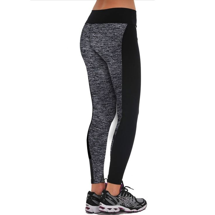 1PC Women Fitness YOGA Sports Trousers Athletic Gym Running Workout Fitness Cropped Leggings Skinny Yoga Pants #608
