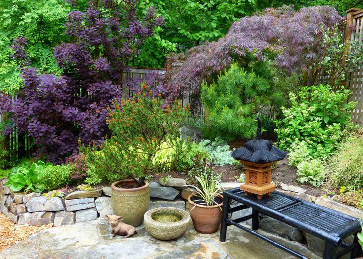Small Outdoor Sitting Areas   Gardener's Roost: Garden Tour in Seattle neighborhood