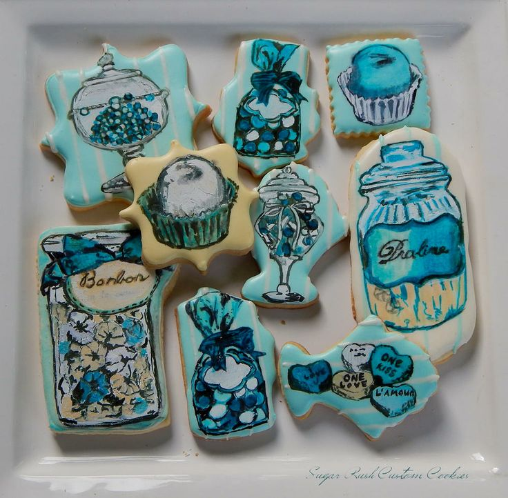 BonBon Candy Cookies      Kim Coleman     https://www.facebook.com/Sugarrushcustomcookies