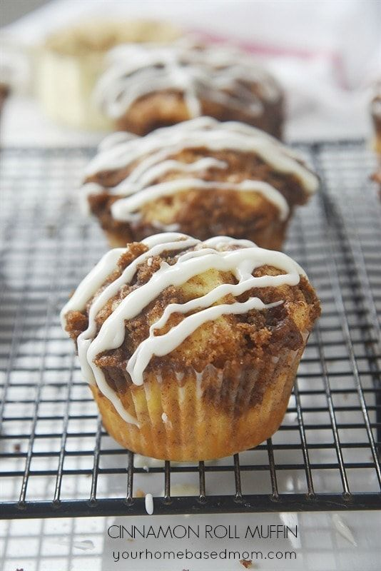 Cinnamon Roll Muffins... think I can THM these  :-)