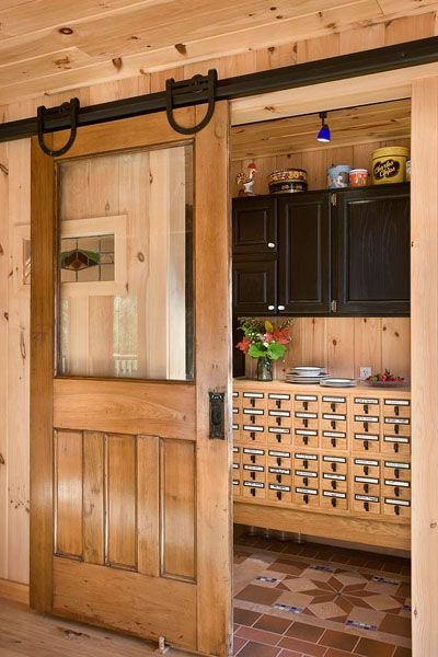 Coventry Log Homes Pantry Log Home Touches Log Home