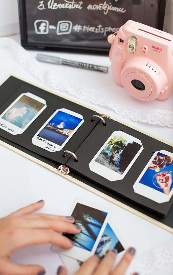 Instax Mini Album Instax Wedding Guest Book Instax Photo Album For