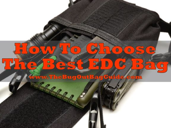 How To Choose The Best EDC Bag for your Every Day Carry - looking at bag style, features, size, and cost to help you decide.
