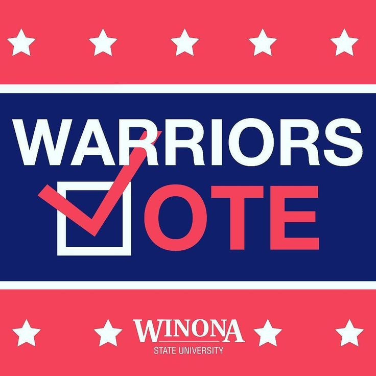 It's not too late! Polls are open until 8pm. Tonight join your fellow Warriors in the library to watch real-time election results. #WarriorsVote2016
