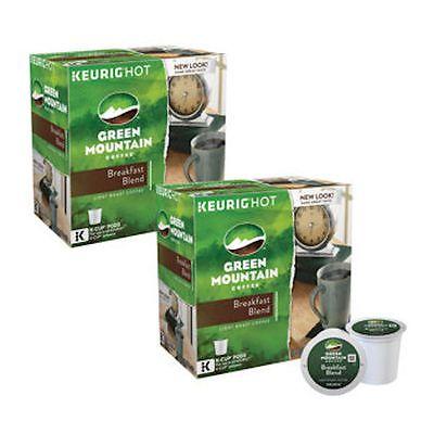 Green Mountain Coffee, Breakfast Blend, Light Roast, Keurig K-Cups, 180-Count Now: $109.99.