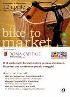 Roma, il 12 aprile con il Bike to Market andare in bicicletta conviene ancora di più