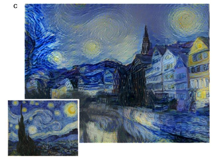 University of Tubingen researchers have developed an algorithm able to paint similarly to famous art styles