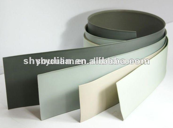 decorative floor accessory soft PVC Skirting Board