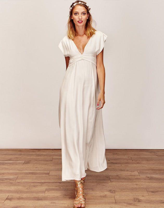 de Robes De Mariée Taille Empire sur Pinterest  Désherbage robes ...