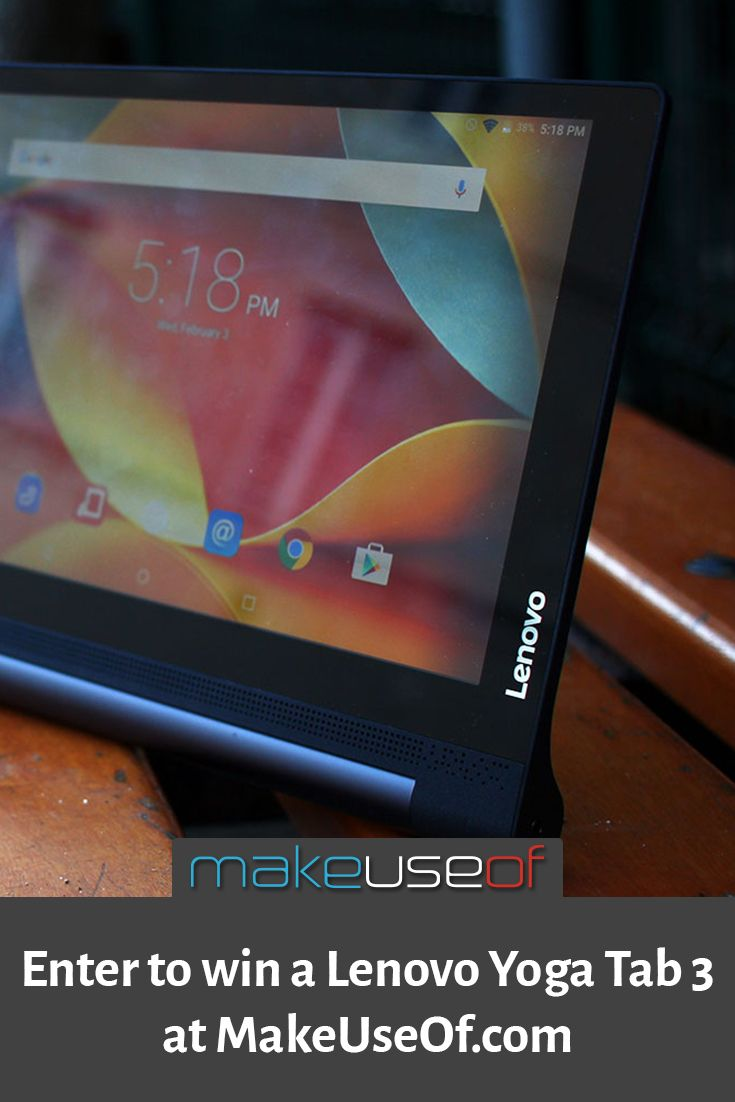 Enter to win this Lenovo Yoga Tab 3!