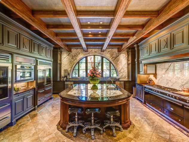 Best luxury kitchens ideas on pinterest luxury kitchen for Million dollar home designs