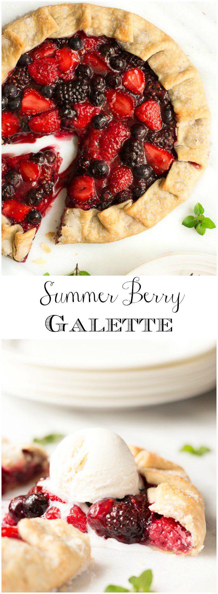 A quick, easy and super delicious summer dessert! via @cafesucrefarine