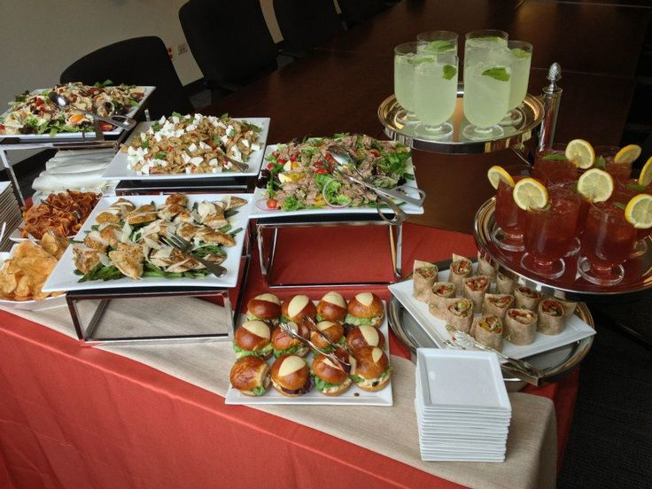 Wraps, Mini Sandwiches and Salads! Call Paramount for your next event!