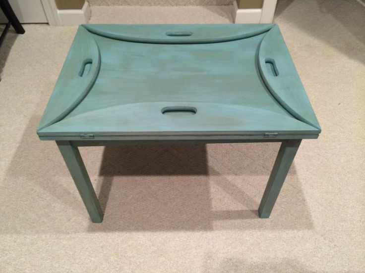 Butler Tray Table--Annie Sloan Paint-clear and dark wax