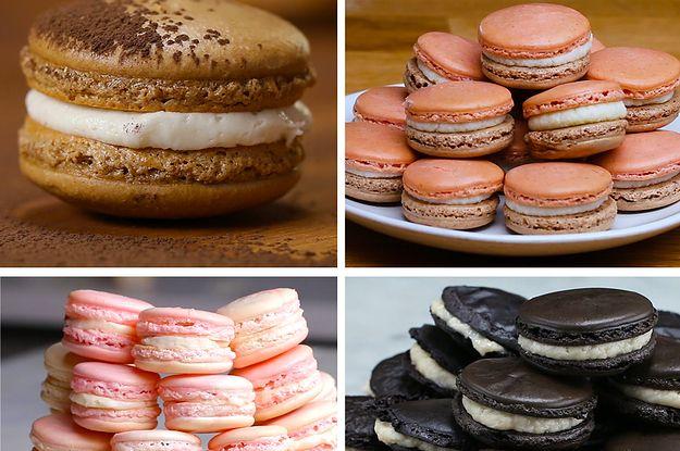 How To Make Macarons 4 Ways