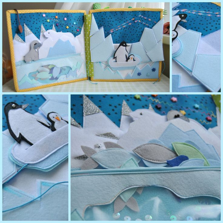 Quiet Book Busy Book 2-7 age Eco friendly Soft by WondefulKids