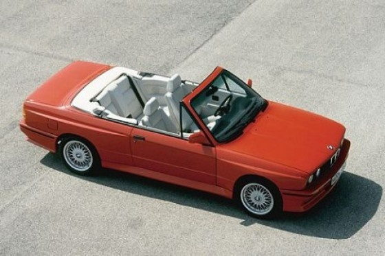 E30 BMW M3 Convertible in Electric Red (Brilliantrot). Just 786 of this beauty were made