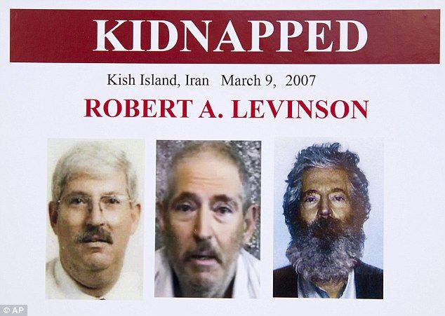 "Turns out American ""tourist"" Robert Levinson kidnapped while vacationing in Iran back in 2007 was a retired FBI agent working for the CIA.  The citizen chose to ""vacation"" in a country the USA was invading ... and top CIA brass claimed they didn't know that Levinson was on a secret mission."