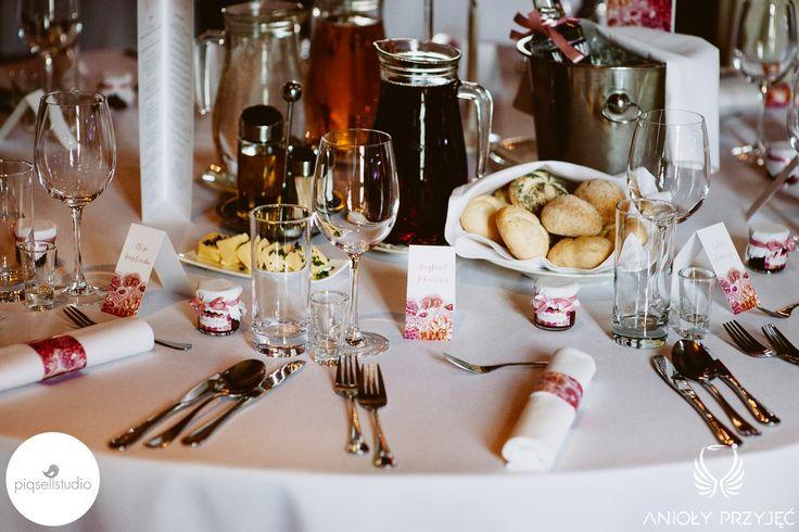 5. Fuchsia Orange Wedding, Tablescape, Wedding stationery / Wesele fuksjowo-pomarańczowe, Papeteria ślubna, Anioły Przyjęć