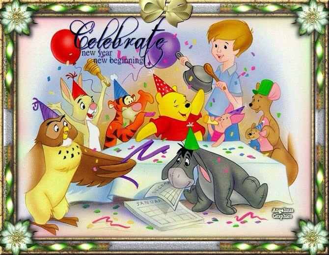 Картинки ко дню рождения с мультяшными героями