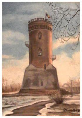 Femlora: Pictor, Grafician: Turnul Chindiei in zori