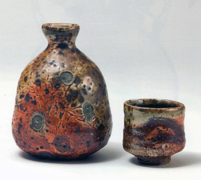 SHINO GLAZES Old & New, East & West for Sake
