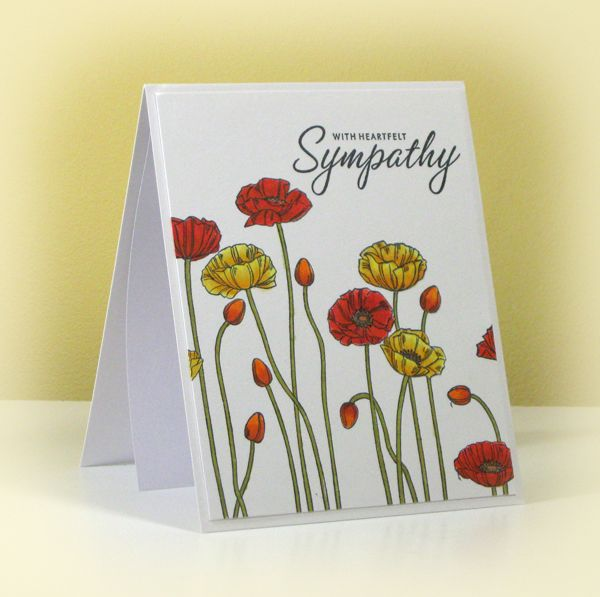 Sympathy Card for Terry by swldebbie - Cards and Paper Crafts at Splitcoaststampers