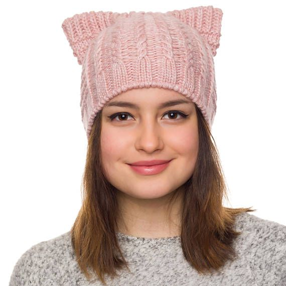 Cat beanie lined with fleece Be cool and warm in our stylish cat ears beanie hat This warm, cozy and stylish cat ear hat, has been lovingly knitted from 60% wool and unlike many other cat hats on the market, it features a super soft fleece inner around the forehead and ears for superior
