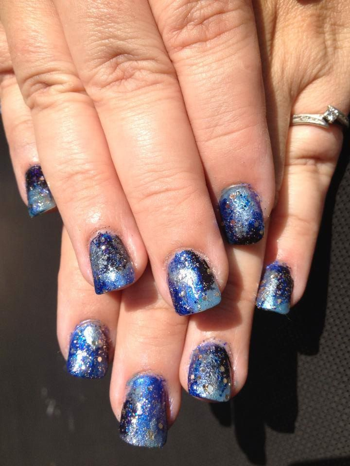 Cosmic Nails Nails by Wiccid