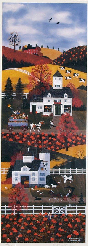Jane Wooster Scott - Autumn Tranquility