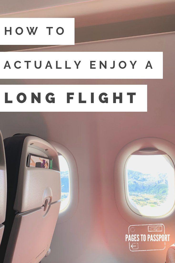 Wie man einen Langstreckenflug tatsächlich genie…