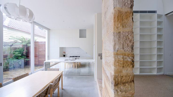 Old meets new at the Balmain Sandstone Cottage.