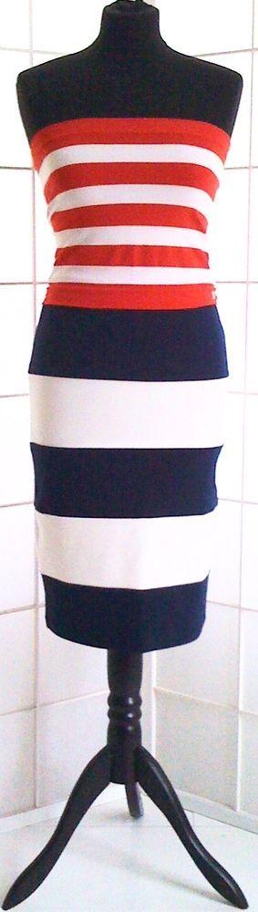 BODYCON 36/38, Stretchrock+Stretchbustier,maritimes Design, Mode-Artikel in Kleidung & Accessoires, Damenmode, Kleider | eBay!
