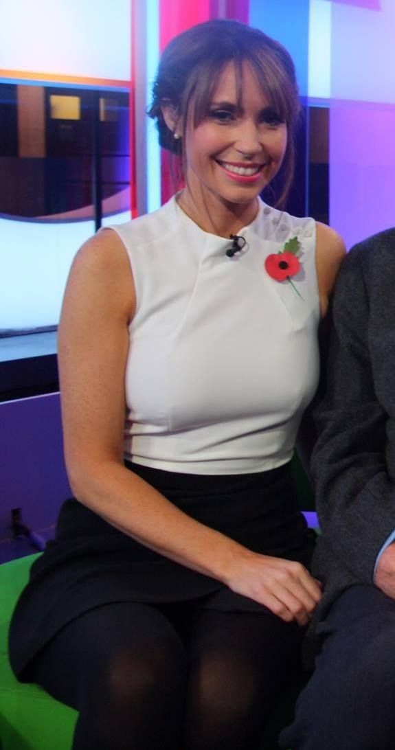 Alex Jones, BBC The One Show (November 9, 2015);