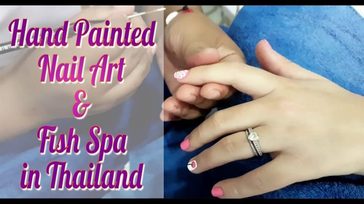 Nail art in Thailand | Fish Spa | Spa day in Phuket