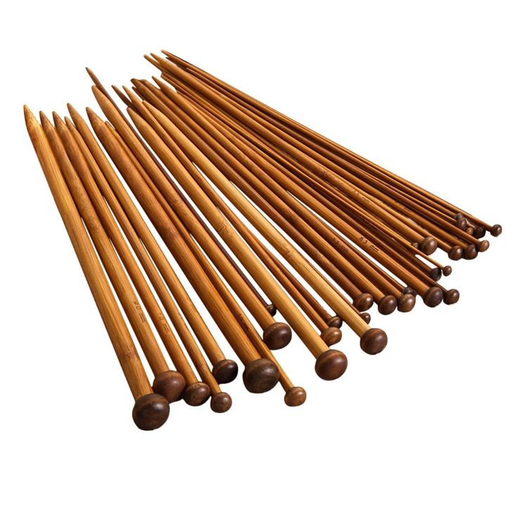 Bamboo Knitting Needle Set