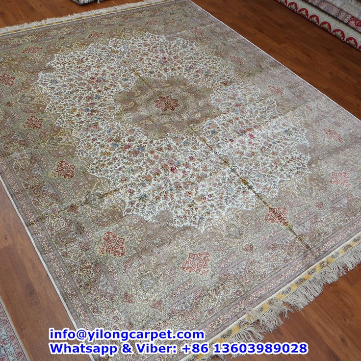 A22 8 X10 400kpsi Double Knots Persian Rug Made By Yilong Basic Color