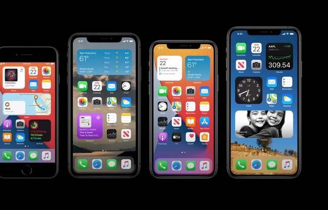 Quels Sont Les Iphone Compatibles Avec Ios 14 Ecran Iphone Iphone Rangement Iphone