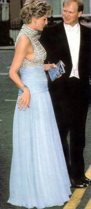 Diana Au Spencer House _ Mai 1992