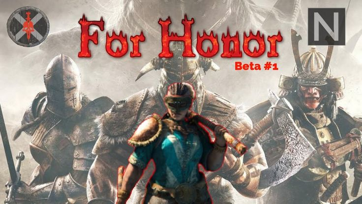 Beta FOR HONOR #1 - intro tutorial 1v1 WIKINGOWIE!