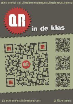 QR-wat??  QR-codes zijn leuke dingen om te gebruiken in je klas. In dit boekje krijg je hierover meer uitleg en tips.