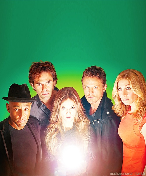 The cast of #Revolution #TV