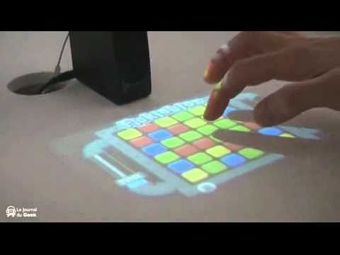 Portable Holographic Computer
