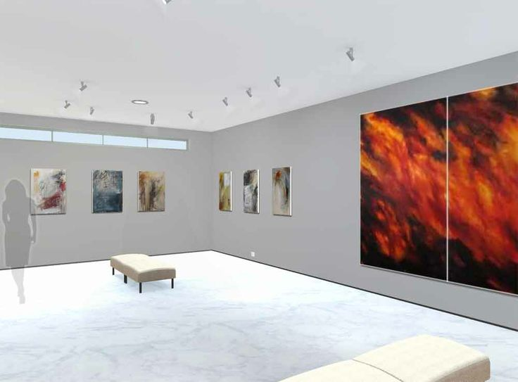 'Handwritingpainting' by Helen Teede - a new 3D exhibition. Step inside and browse at your leisure! http://bit.ly/1dNe7gN
