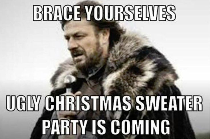 Ugly Christmas Sweater Party is Coming