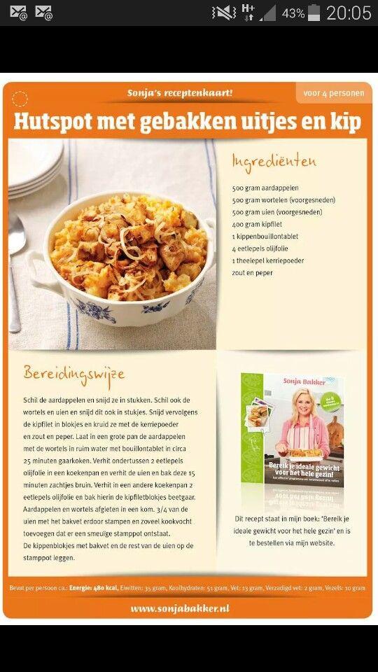 Hutspot met kip en ui