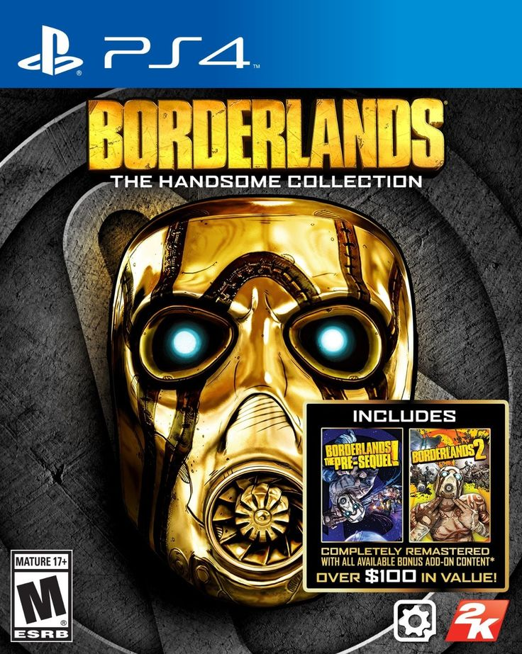 Ahora disponible (PS4) Borderlands: The Handsome Collection nuevo sellado.