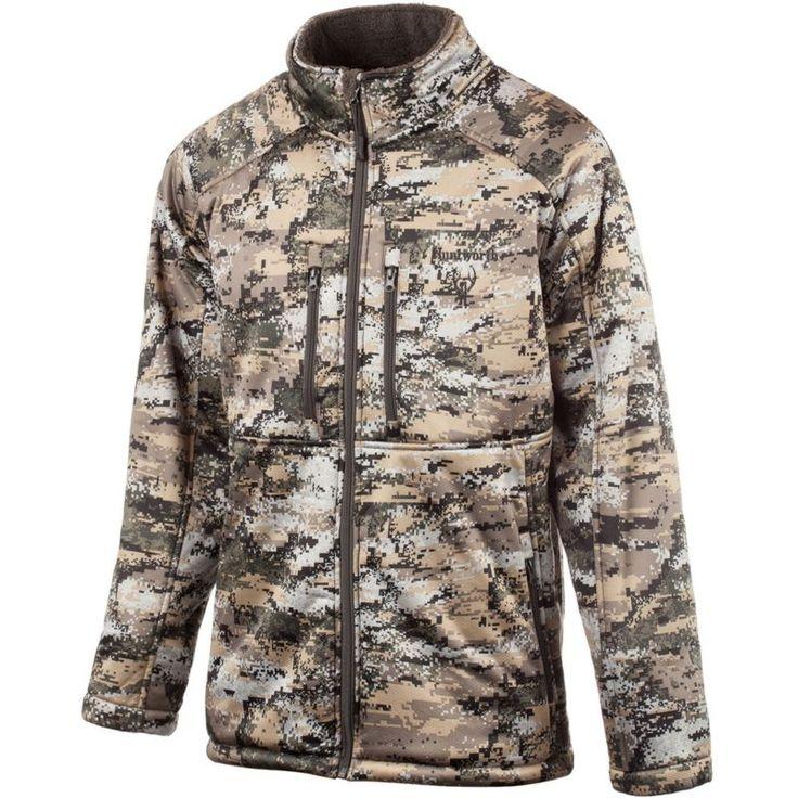 Huntworth Men's Heavyweight Soft Shell Hunting Jacket, Size: Medium, Disruption