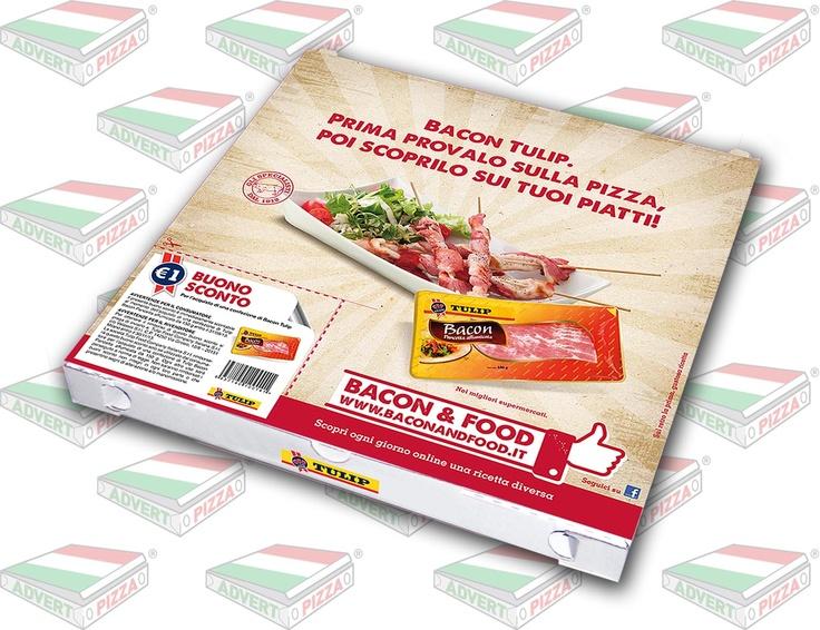AdvertPizza on air per il Bacon Tulip