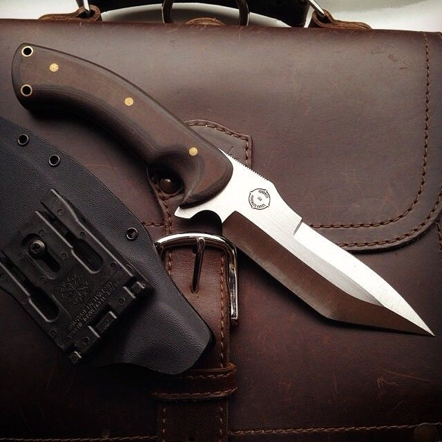 That thing is a beast! The knife is pretty cool, too. | Saddleback Leather Co. | Satchel | 100 Year Warranty | $308.00 - $408.00